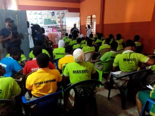 Female Students Empowered at Madina Senior High School