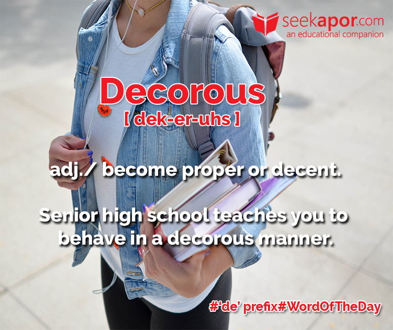 Decorous - SEEKAPOR  an Educational Companion